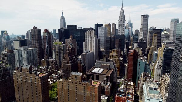 View of Manhattan May 12, 2014 from the United Nations headquarters building in New York - Sputnik International