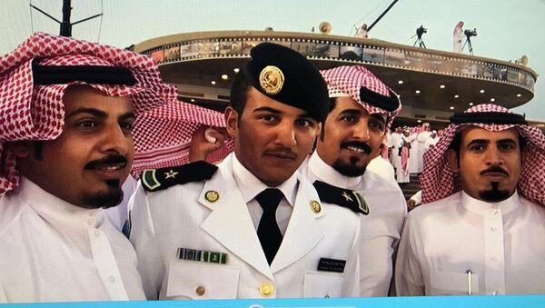 Abdel Aziz Shabib al-Balawi (second from the left) - Sputnik International