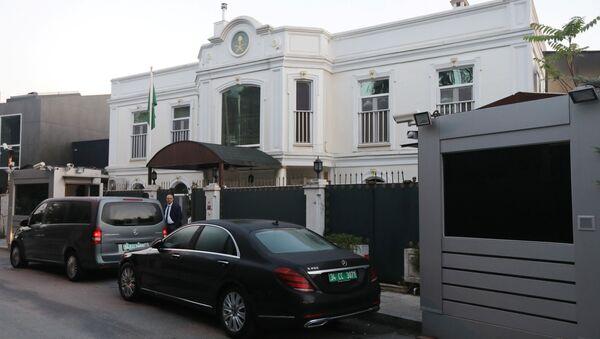 Residence of Saudi Arabia's Consul General Mohammad al-Otaibi is pictured in Istanbul - Sputnik International