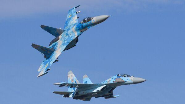 Su-27 fighter jet - Sputnik International
