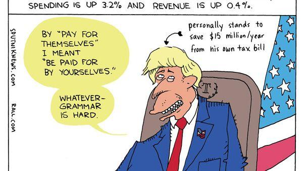 Deficit Don - Sputnik International
