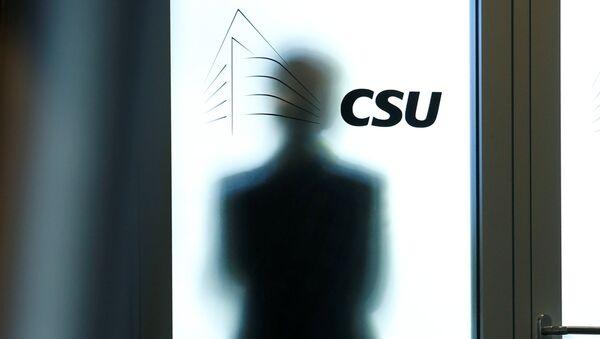CSU-Logo (Symbolbild) - Sputnik International