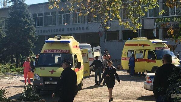 Blast at Kerch Polytechnic College - Sputnik International