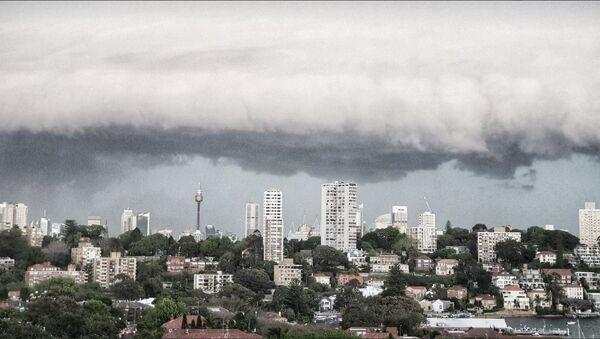 Storm in Wentworth Australia - Sputnik International