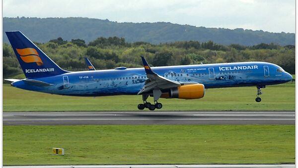 Icelandair plane - Sputnik International