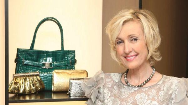 Handbag designer Lana Marks, a Trump-owned Mar-a-Lago member, now the new US ambassador to South Africa - Sputnik International