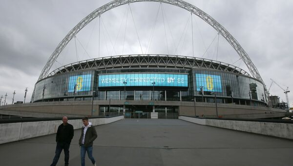 Wembley Stadium - the home of England football team - was going to be sold for £600 million (US$781 million) - Sputnik International