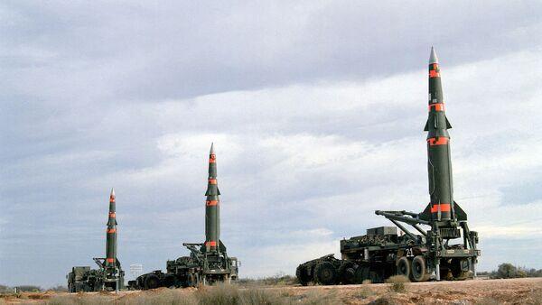 Pershing II missiles  - Sputnik International