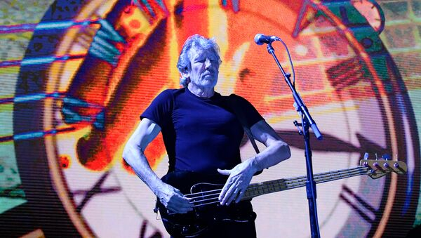 British musician Roger Waters performs at the Stadthalle in Vienna, Austria, on May 16, 2018. - Sputnik International