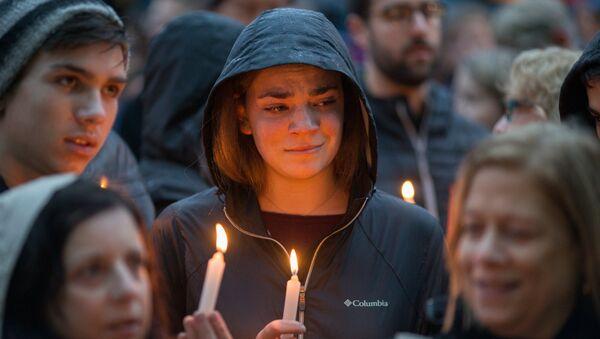 Vigil for Victims of Pittsburgh Synagogue - Sputnik International