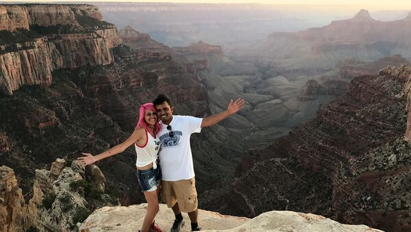 The tragedy took place on October 25, when a married couple from India living in the United States died after falling 800 feet in an area with steep terrain in California's Yosemite National Park - Sputnik International