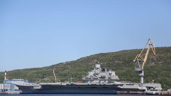 Admiral Kuznetsov - Sputnik International