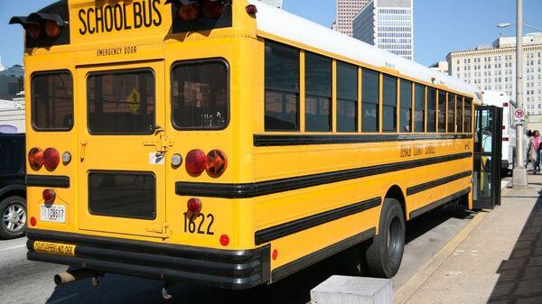 US school bus (file photo). - Sputnik International