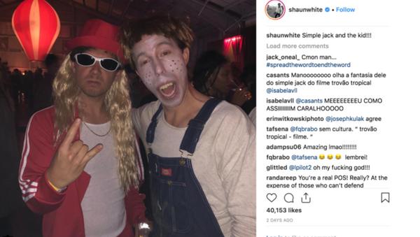 Shaun White Halloween costume - Sputnik International