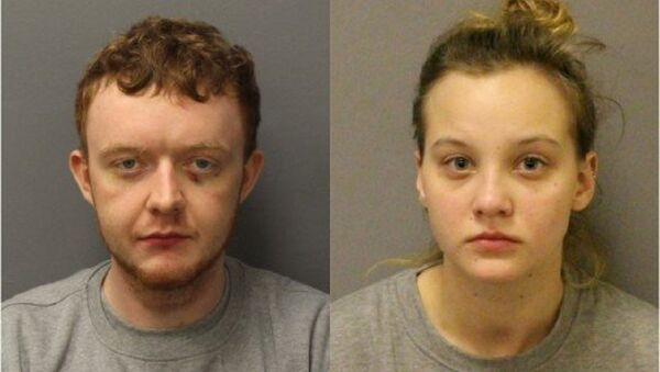 Jesse McDonald (left) was jailed for life for Naomi Hersi's murder. He roped his girlfriend Natalia Darkowska (right) into helping him clear up the scene - Sputnik International