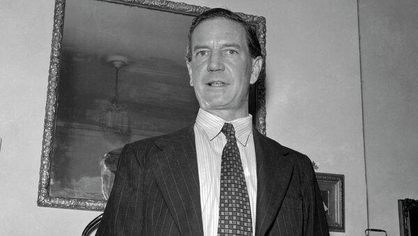 Harold Kim Philby, British-born master spy in a 1955 photo - Sputnik International