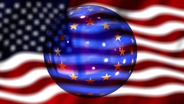 EU US flag - Sputnik International