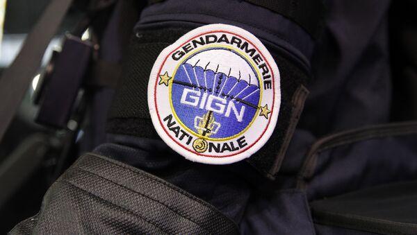 A badge of the GIGN (National Gendarmes Intervention Group) an elite French force - Sputnik International