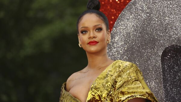 Rihanna poses for photographers upon arrival at the premiere of the film 'Ocean's 8' in central London, Wednesday, June 13, 2018 - Sputnik International