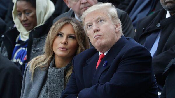 Donald Trump and Melania Trump - Sputnik International