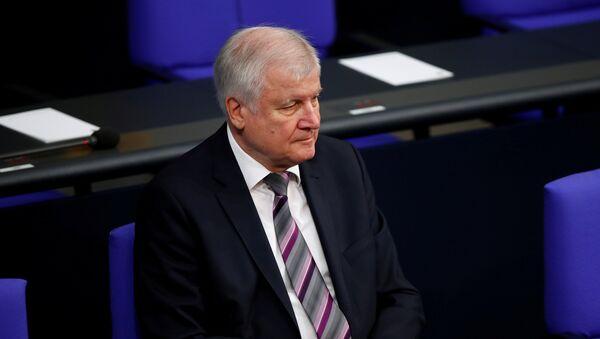 German Interior Minister Horst Seehofer - Sputnik International