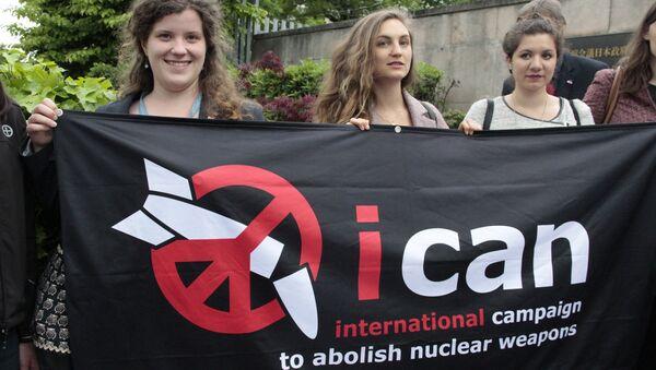International Campaign to Abolish Nuclear Weapons - Sputnik International