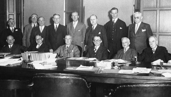 a boys club (directors of the Associated Press in 1930) - Sputnik International