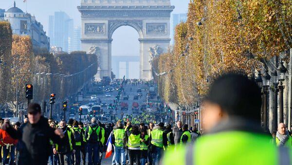Fuel Protests in France - Sputnik International