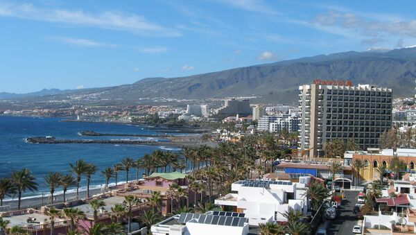 Tenerife Island Playa de las Américas - Sputnik International