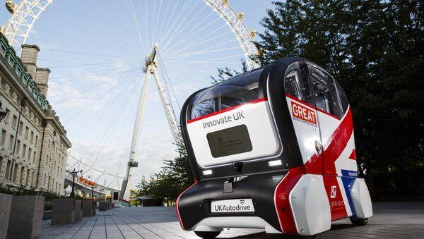 UK Autodrive Self-Driving Pod - Sputnik International