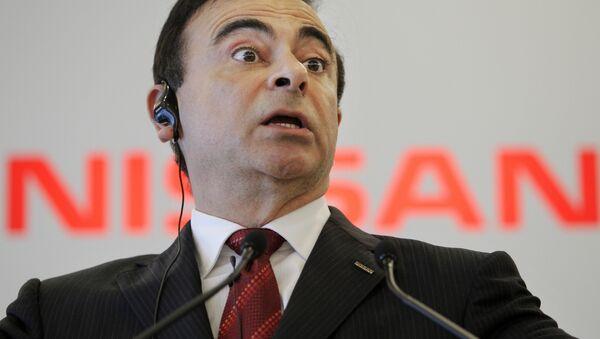Nissan Motor Co. Chief Executive Carlos Ghosn - Sputnik International