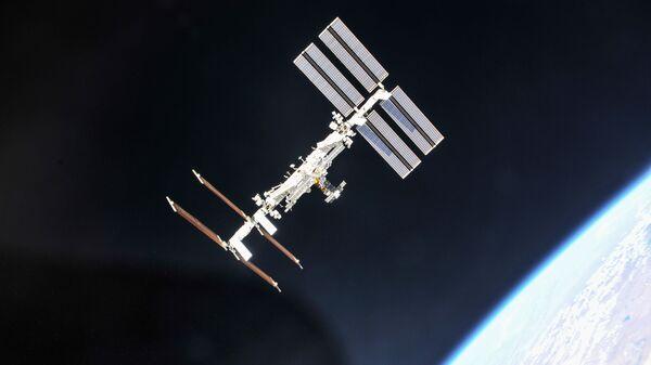 The International Space Station photographed from a Soyuz spacecraft - Sputnik International