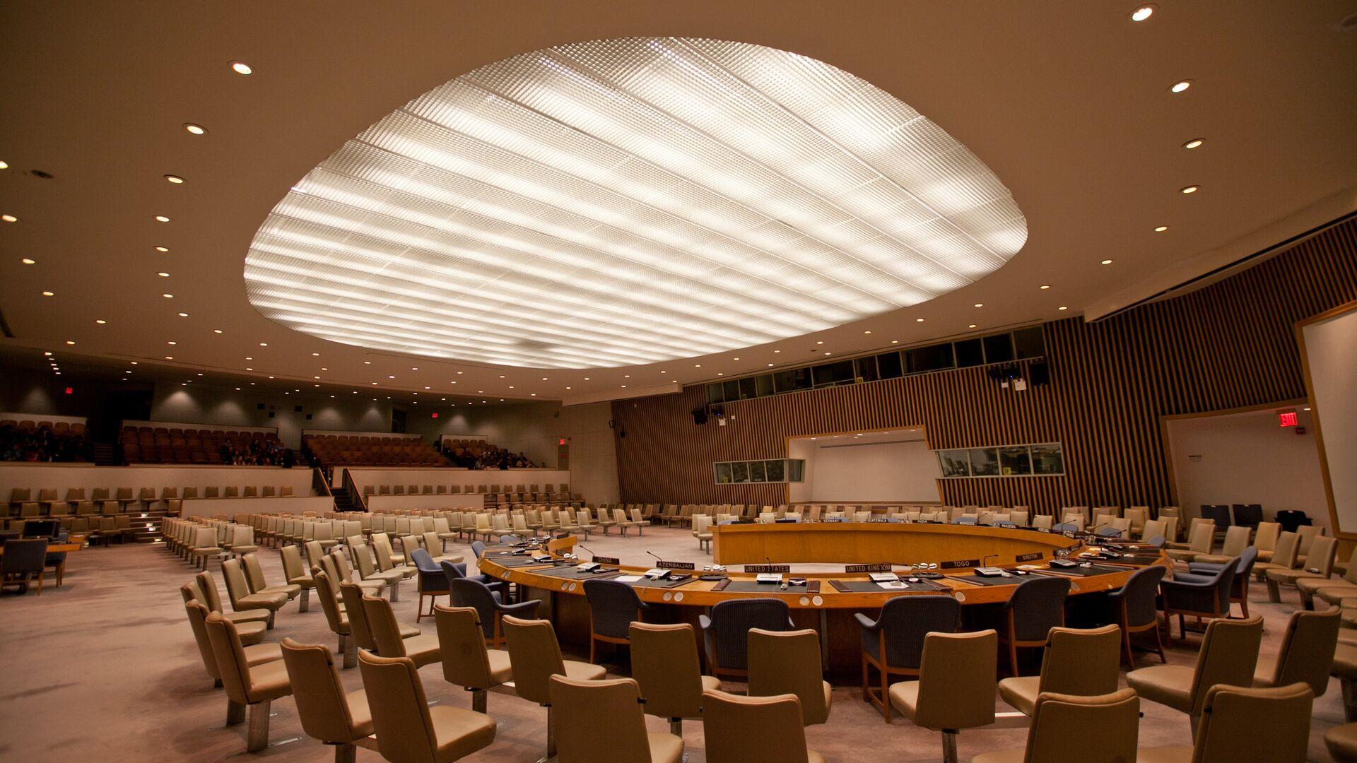 UN Security Council chamber (File photo). - Sputnik International, 1920, 17.09.2021