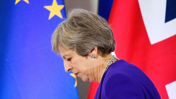 Britain's Prime Minister Theresa May - Sputnik International