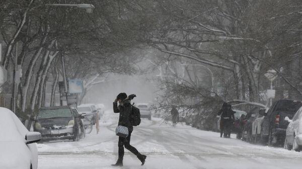 MIDWEST SNOWSTORM CHICAGO - Sputnik International