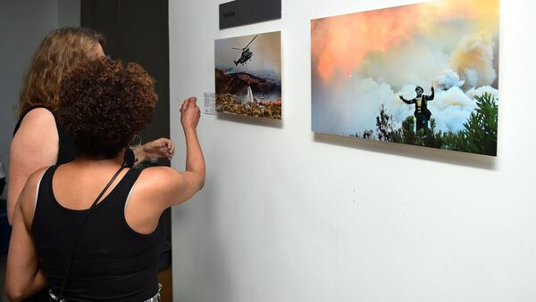 Opening of an exhibition of winners of a competition of Andrey Stenin in Cape Town - Sputnik International