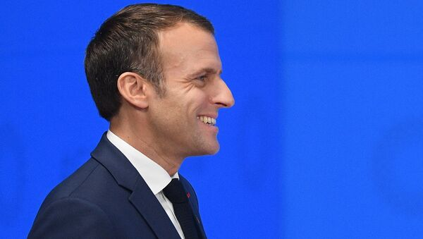 French President Emmanuel Macron attends the G20 summit in Buenos Aires, Argentina. November 30, 2018 - Sputnik International