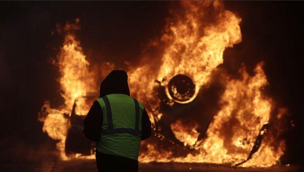 France 'Yellow Vests' protests - Sputnik International