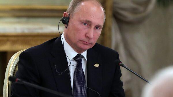 Russian President Vladimir Putin on the sidelines of G20 summit in Buenos Aires, Argentina. November 30, 2018 - Sputnik International