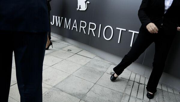 Former Trump Ocean Club hotel in Panama City, now rebranded as JW Marriott luxury hotel after a bitter dispute over control. - Sputnik International