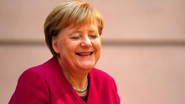 Bundeskanzlerin Angela Merkel - Sputnik International