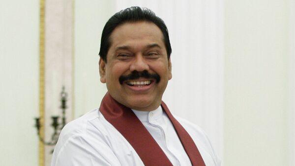 Sri Lankan Prime Minister Mahinda Rajapaksa - Sputnik International