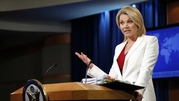 State Department spokeswoman Heather Nauert - Sputnik International