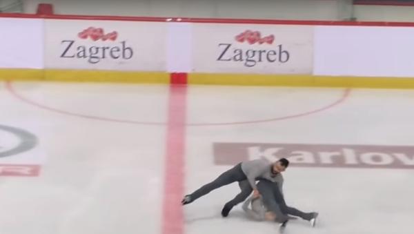 Ashley Cain & Timothy LeDuc USA Free Skate 2018 Golden Spin of Zagreb - Sputnik International
