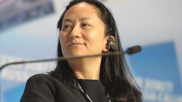 Meng Wanzhou, Chief Executive Officer, Huawei Technologies, attending the 6th Annual VTB Capital Investment Forum Russia Calling at the World Trade Center, October 2, 2014 - Sputnik International