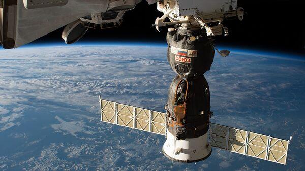 The Soyuz MS-09 spacecraft  - Sputnik International