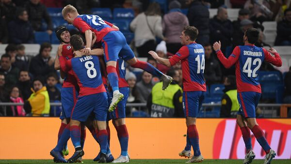 UEFA Champions League. Real Madrid VS CSKA - Sputnik International