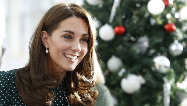 Britian's Catherine, Duchess of Cambridge during a visit with Prince William to Evelina London Children's Hospital in London, Tuesday Dec. 11, 2018. Evelina London, which is part of Guy's and St Thomas' NHS Foundation Trust, is preparing to mark its 150th anniversary in 2019. - Sputnik International