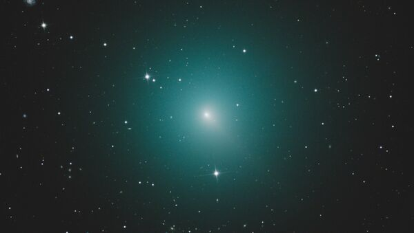 Periodic Comet 46P/Wirtanen, currently the brightest comet in the night sky, will pass closest to the Earth in Mid-December, 2018 - Sputnik International