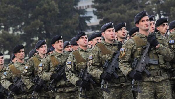 Members of Kosovo's security forces - Sputnik International